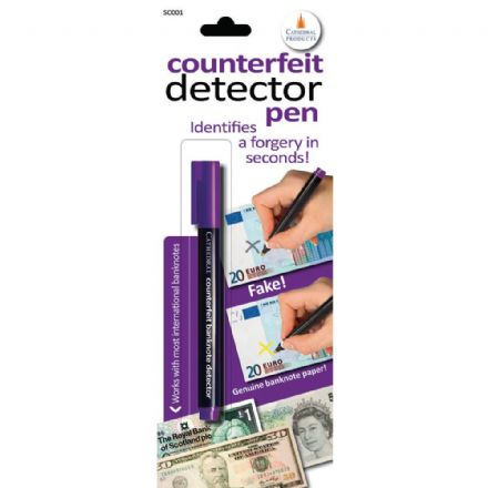 Cathedral Counterfeit Detector Pen, Identifies a Forgery in Seconds